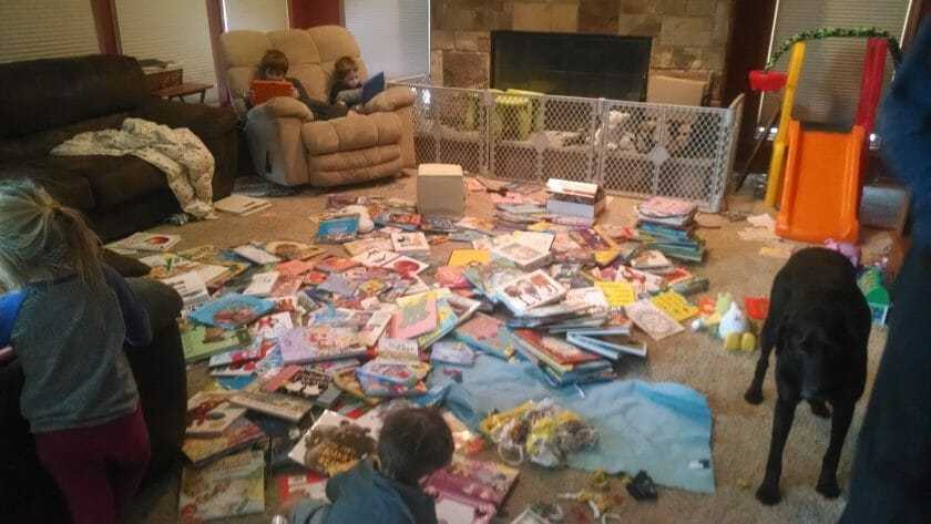 All of the kids books!