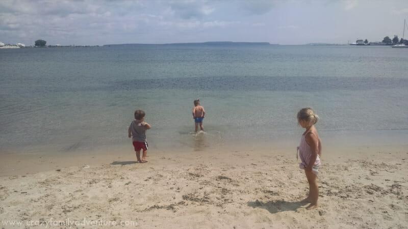 Saint Ignace Beach