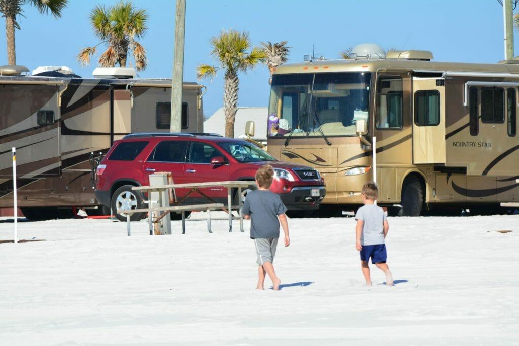 RV at Beach