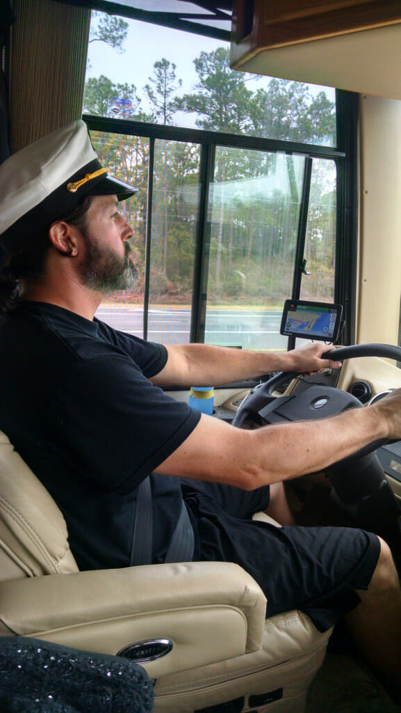 Captain Craig back at the helm!