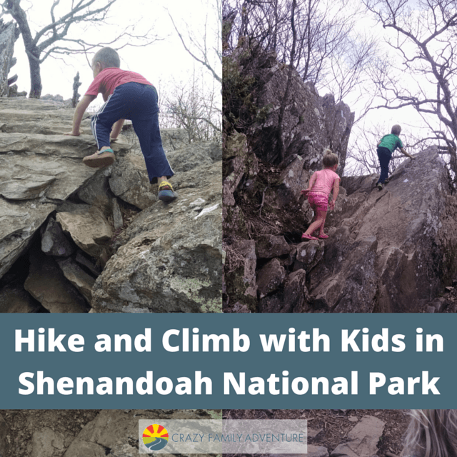 Instagram Hike and Climb with Kids in Shenandoah