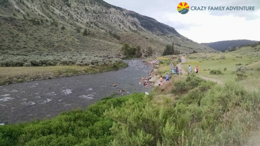 Boiling River - Coolest of all things to do in Yellowstone