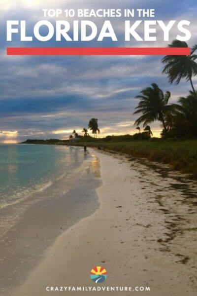 The Florida Keys aren't known for their beaches but they do still have some good ones! Here we share our top 10 list of the best beaches all up and down the Florida Keys. There are so many beautiful places for hanging out, snorkeling and watching sunset!