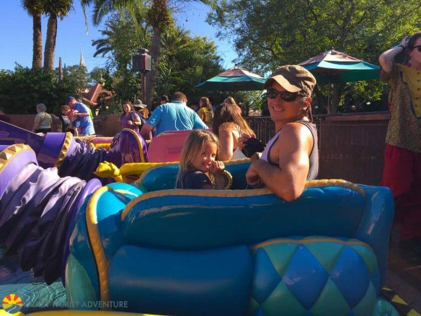 Dumbo ride at Magic Kingdom