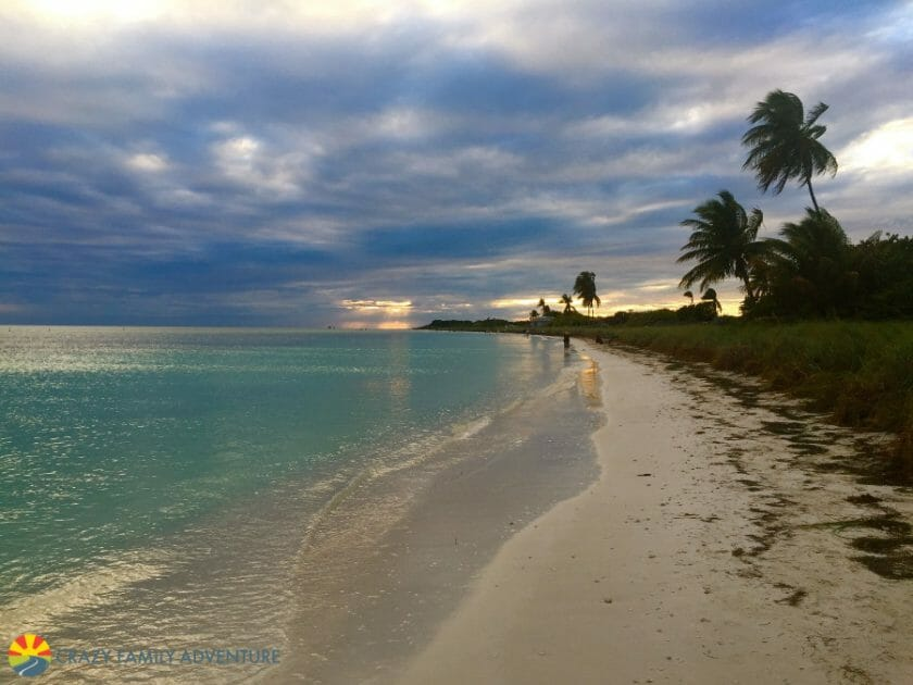 One of our Top 10 Beaches in the Florida Keys