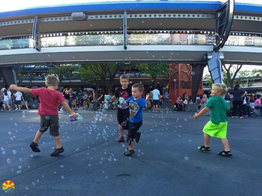Magic Kingdom in one day - bubble fun!