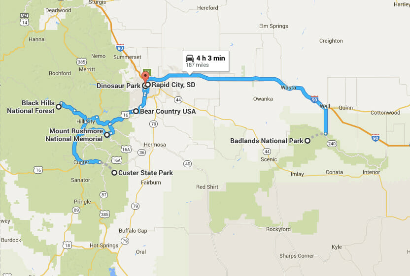 South Dakota Family Road Trip