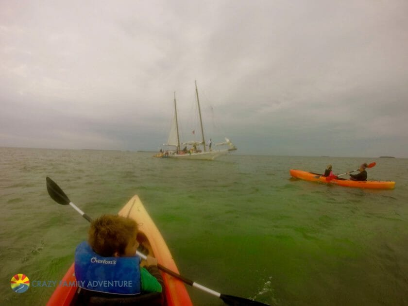 Key West With Kids - Danger Charters Kayak