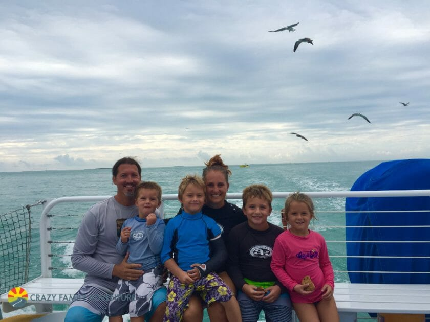 Key West With Kids - Fury Family Pic