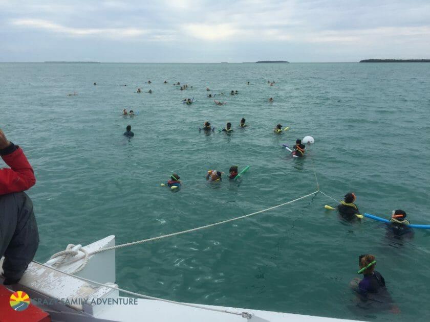 Key West With Kids - Fury Snorkleing