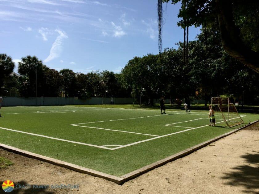 Hawks Cay Coral Cay Soccer Field
