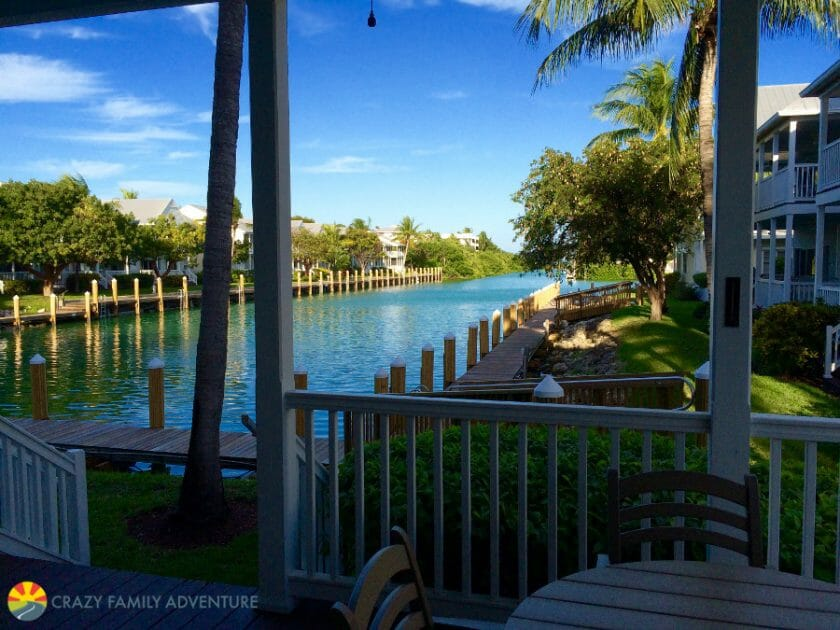 Hawks Cay Deck