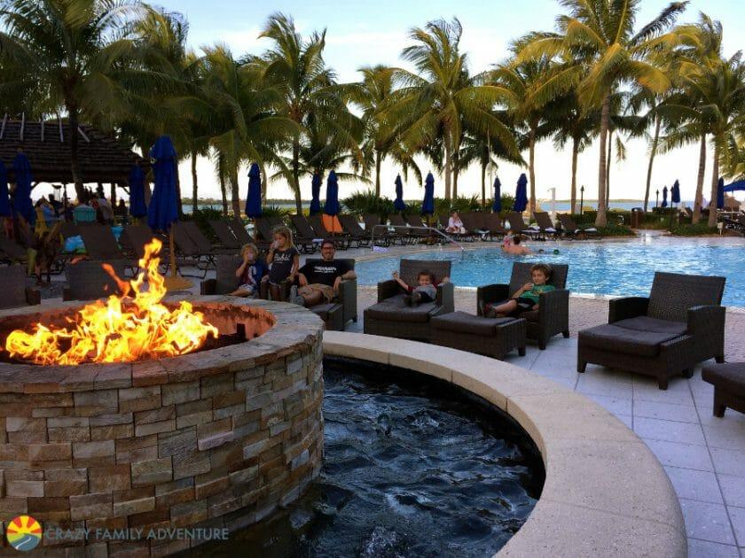 Hawks Cay Firepit