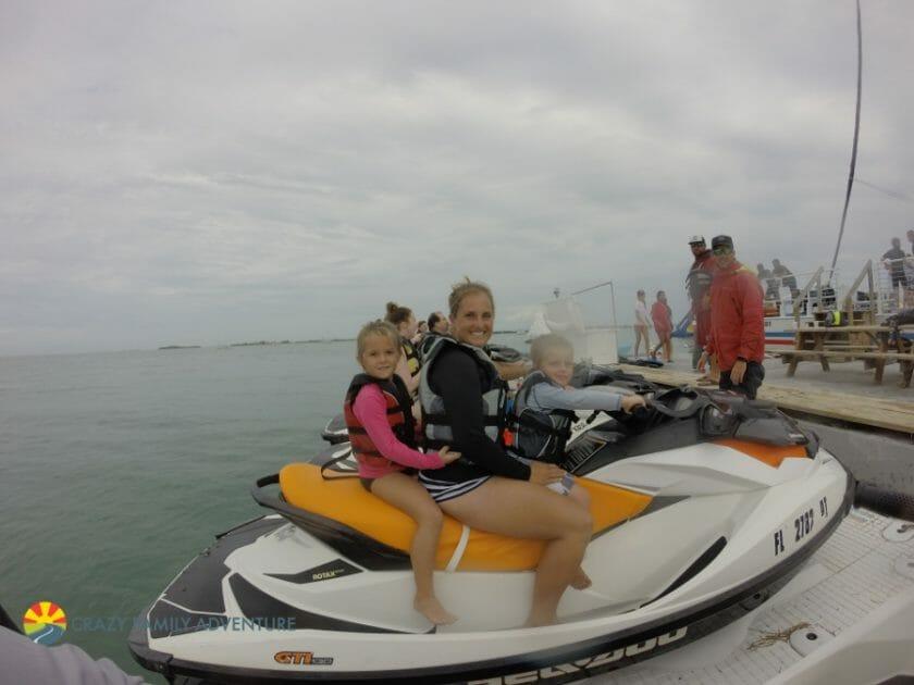 Key West With Kids - Fury Jet Ski