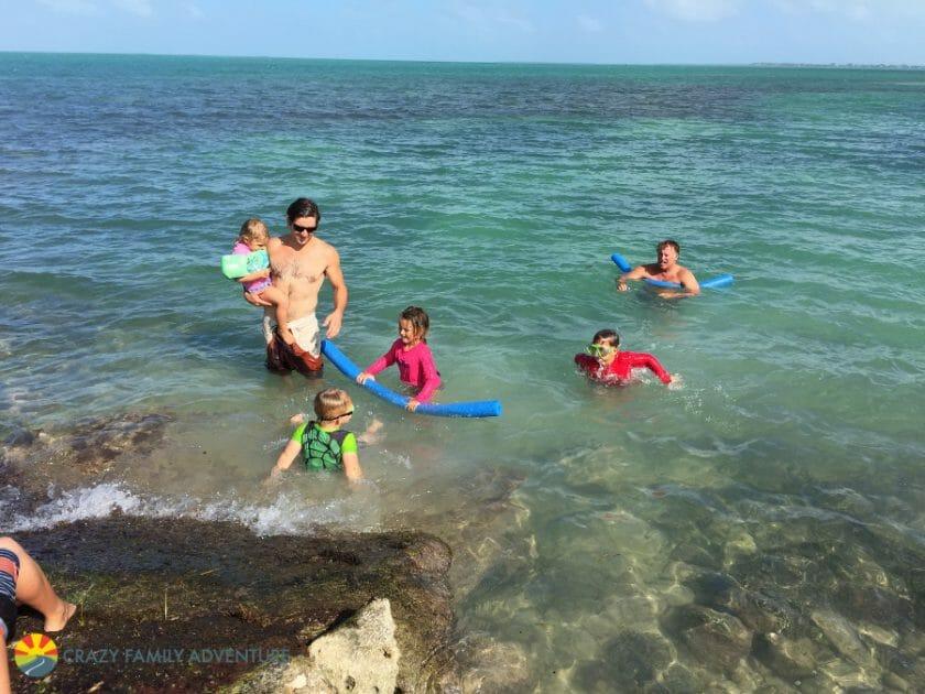 Fiesta Key Ocean Swimming