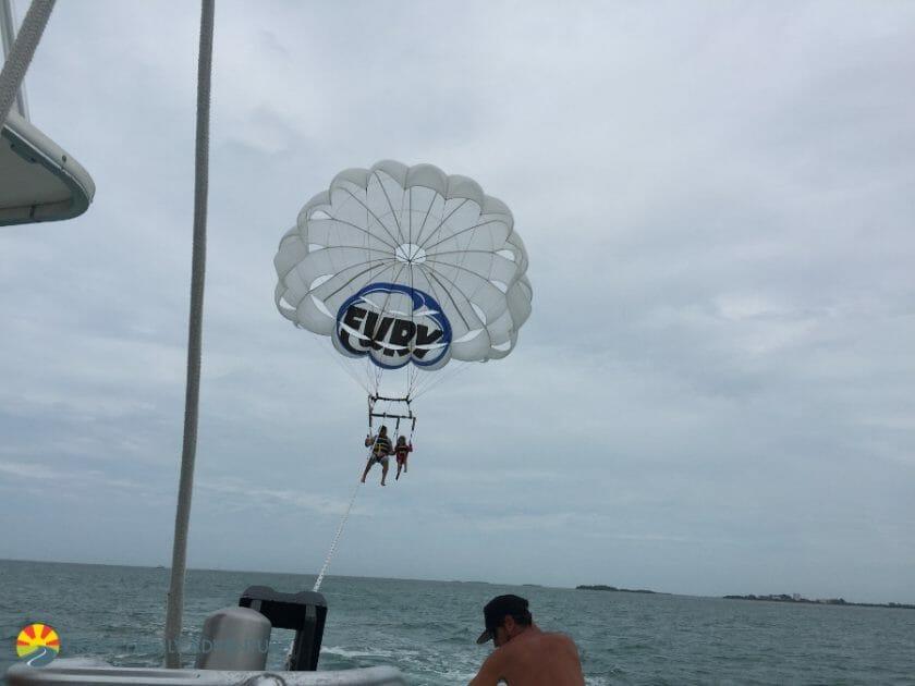 Key West With Kids - Fury Parasail