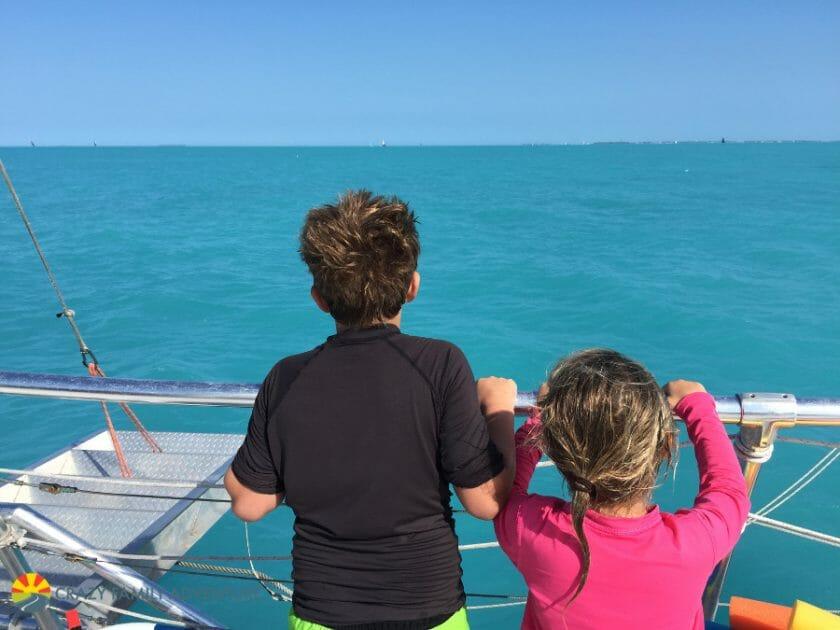 Key West With Kids - Sebago sailing
