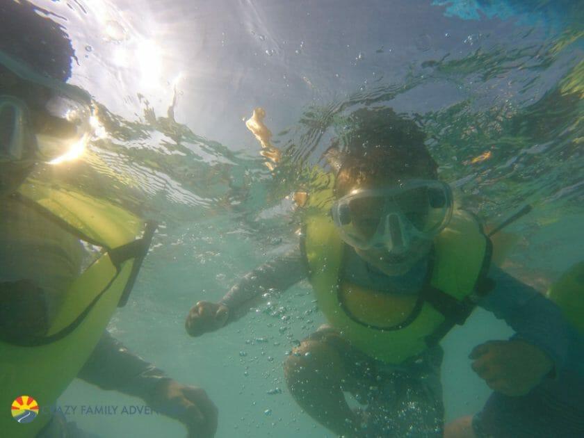 Key West With Kids - Sebago snorkel