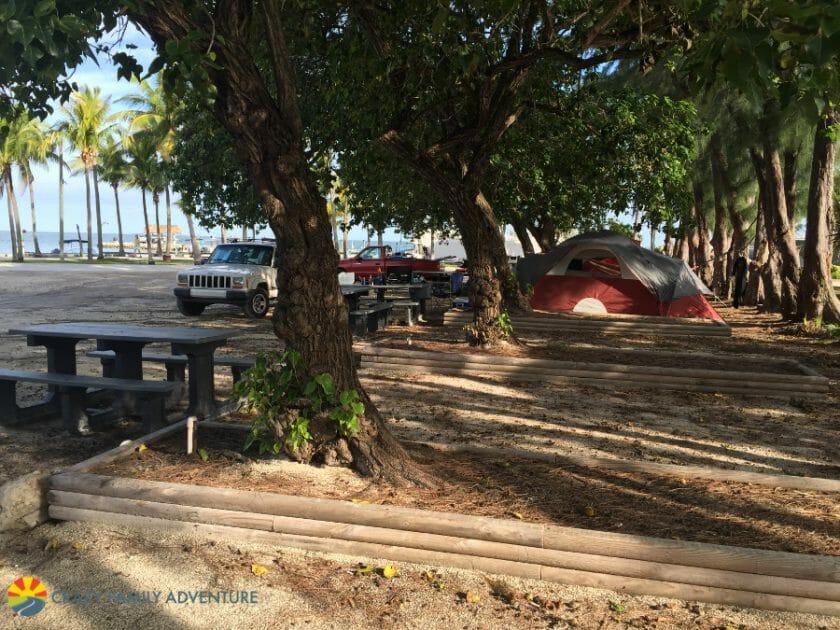 Fiesta Key Tent Camping