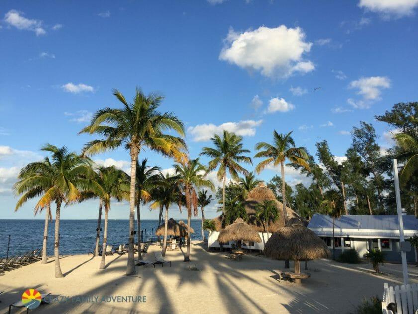 Fiesta Key Beach Area
