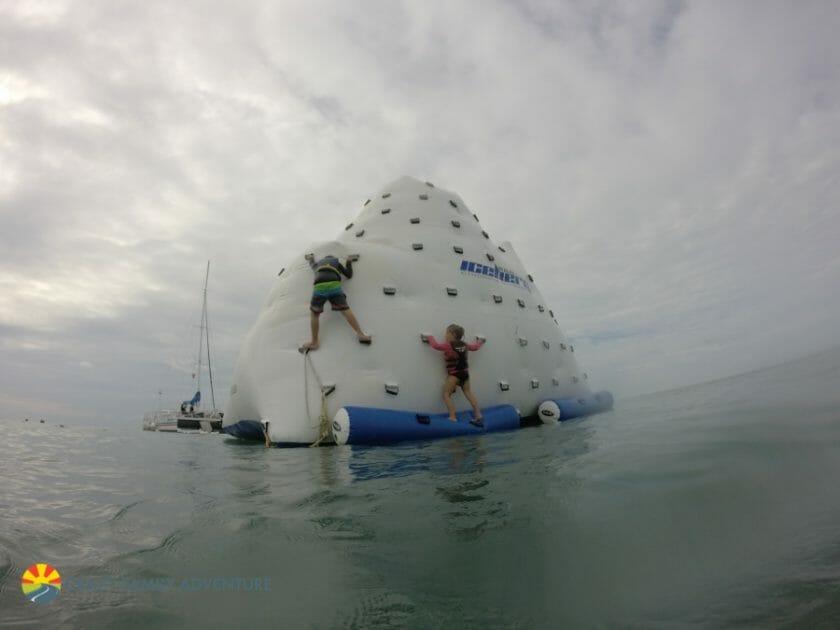 Key West With Kids - Fury Floating Island