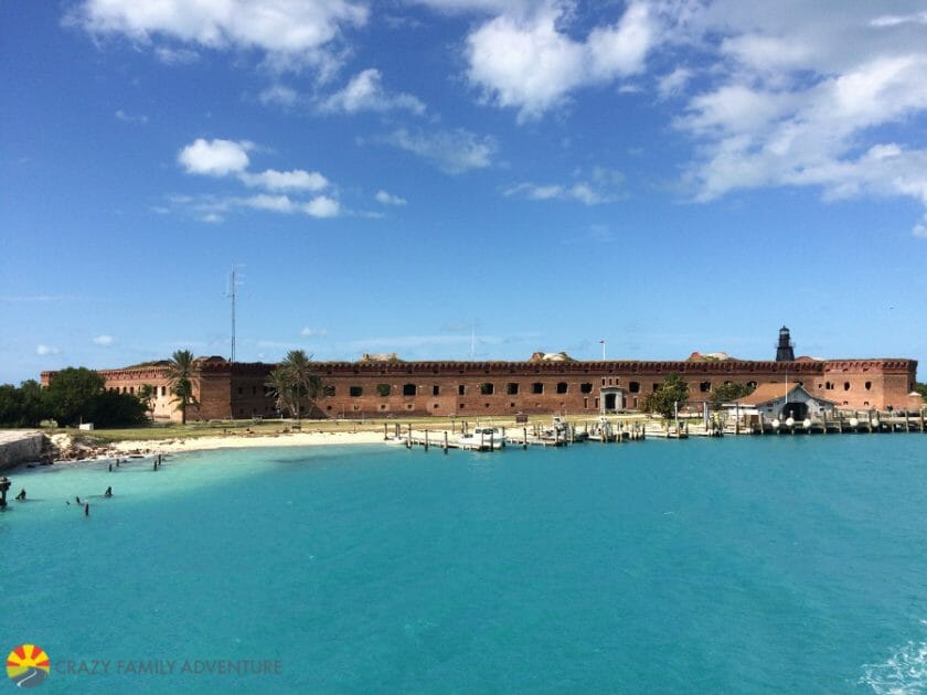 Dry Tortugas arrival
