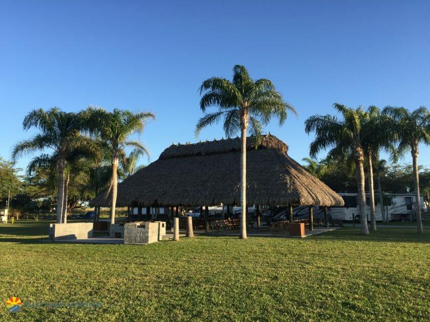 Miami Everglades RV Resort Tiki Hut