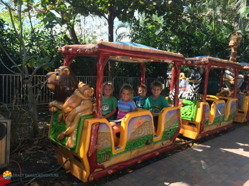 Palm beach Zoo Train