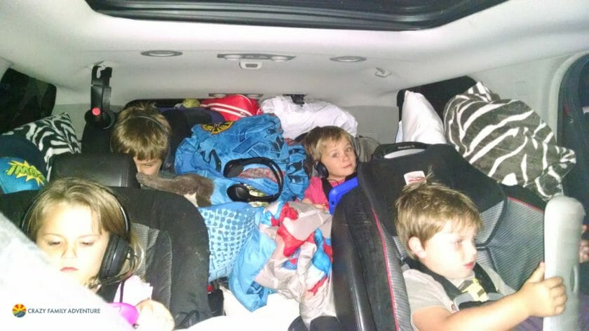 Road trip With Kids - Ipads