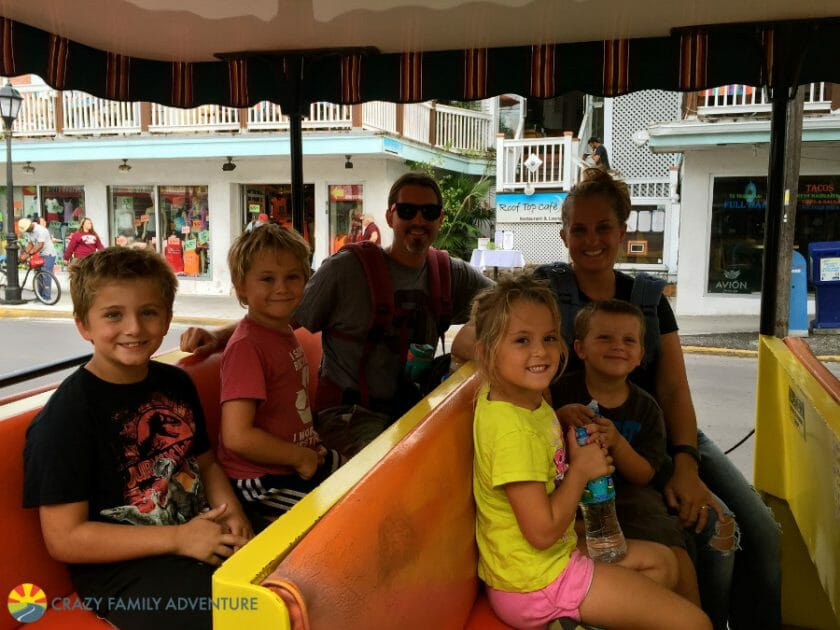 Conch Train in Key West
