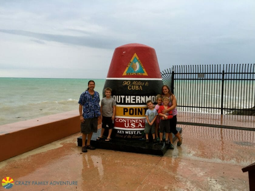 southern-most-point in Key West