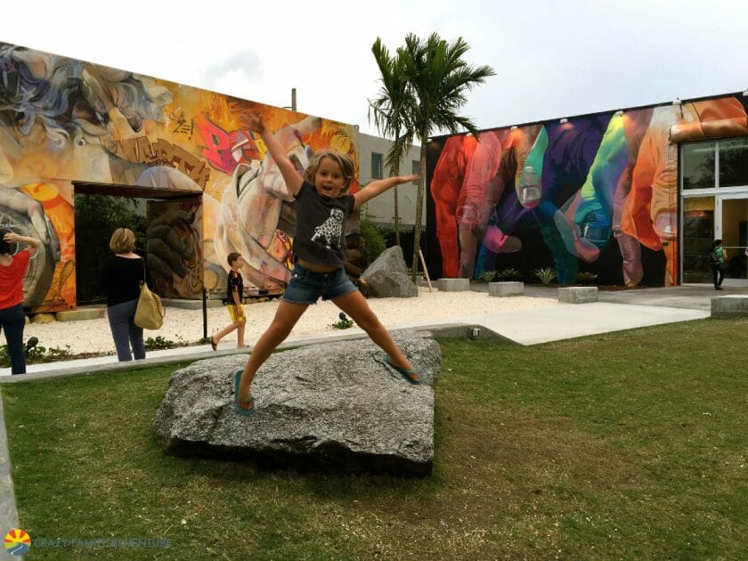 Wynwood art district in Miami Florida