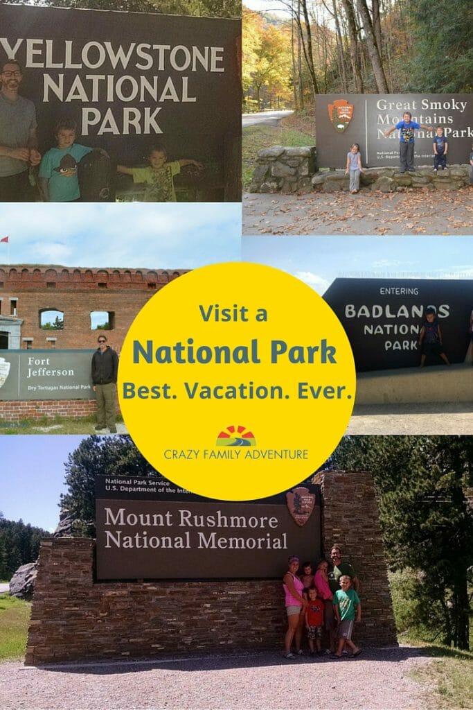 Visit A National Park- Best. Vacation. Ever. Pinterest