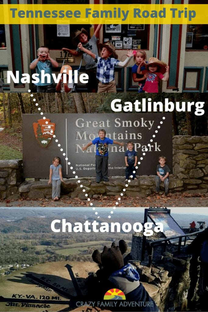 Ultimate Tennessee Family Road Trip