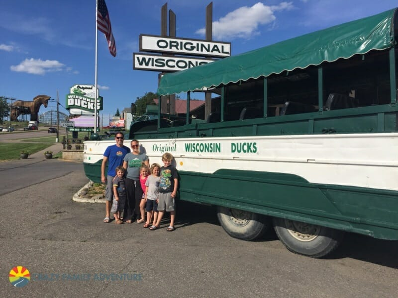 Original Wisconsin Ducks - Our Full Time Family RV Adventure - Wisconsin Dells