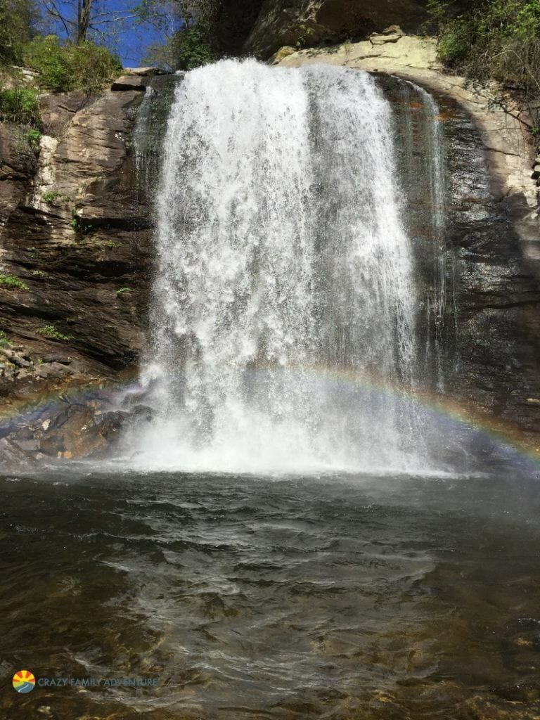 Hiking With Kids By Asheville LookingGlassfalls