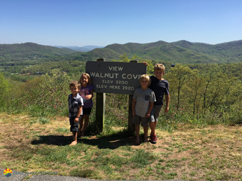 Things to do in asheville with kids - Blue Ridge Parkway