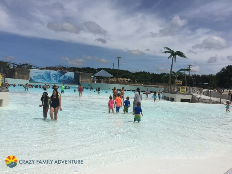 Mt Olympus wave pool - Our Full Time Family RV Adventure - Wisconsin Dells