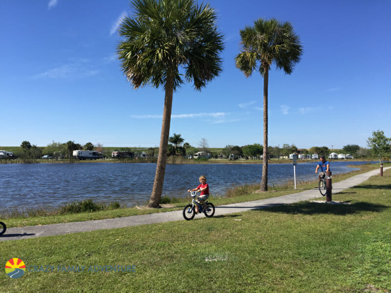 Downtime during Full Time Travel: Bike Ride