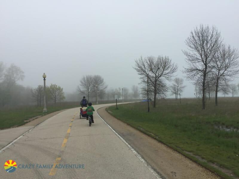 Biking to the Best RV Park Near Chicago