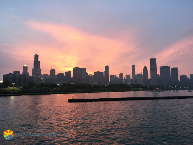 Don't miss this skyline when RVing in Chicago!