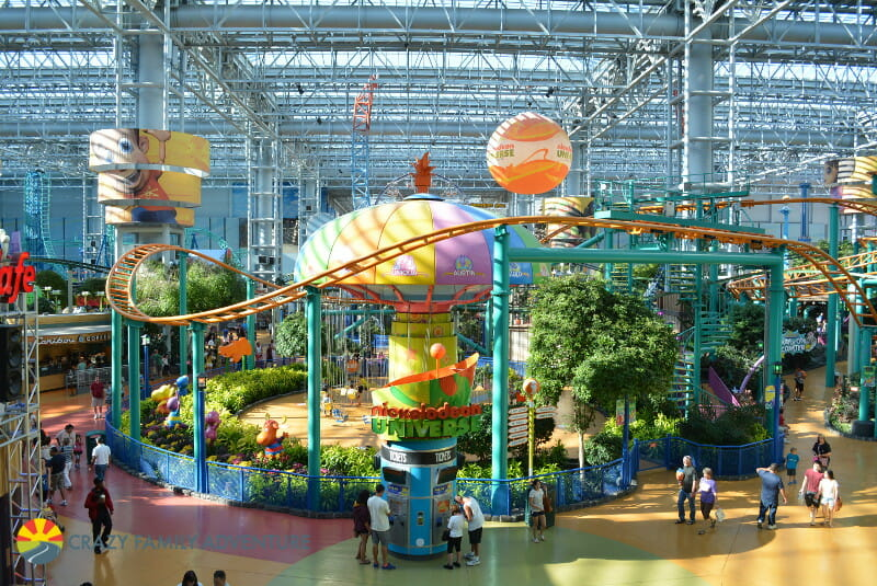 Things To Do At Mall of America With Kids - Nickelodeon Universe