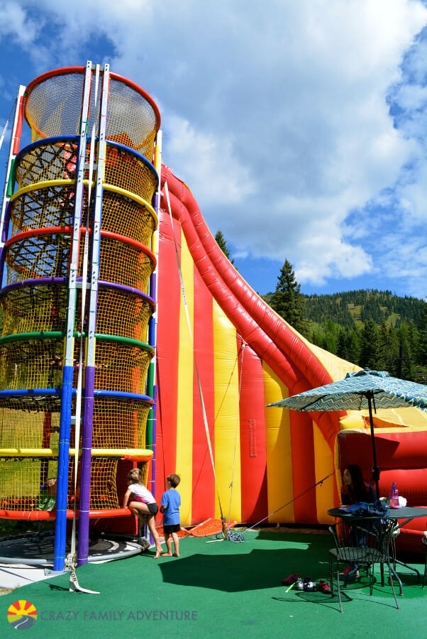 Spider Monkey Mountain is one of the best Whitefish Mountain Resort summer activities for kids