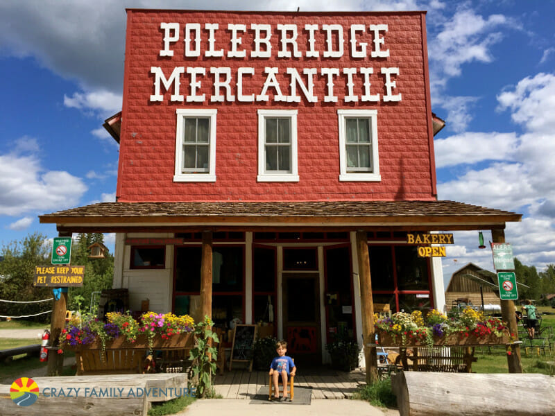 Polebridge Mercantile in Glacier National Park