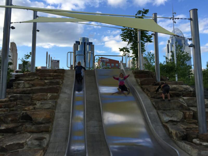 City park in the 'Nati