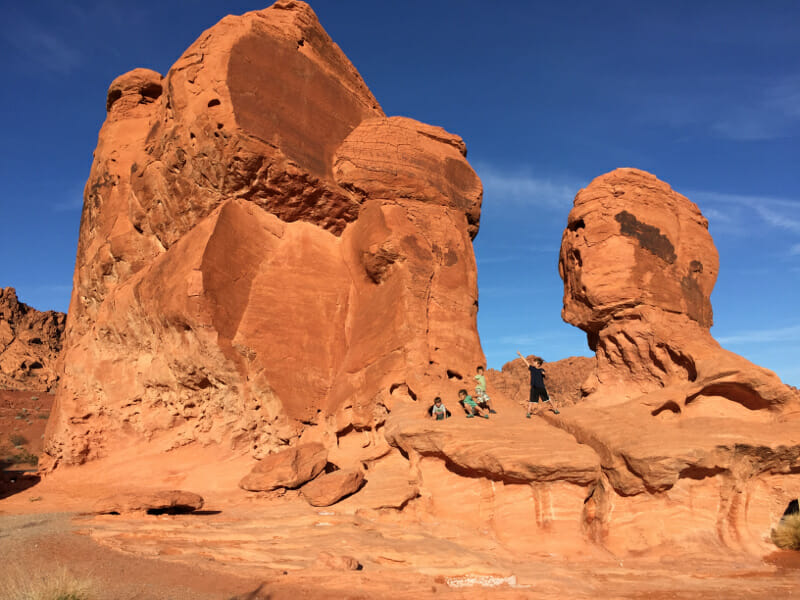 Valley Of Fire State Park outside of Las Vegas, NV