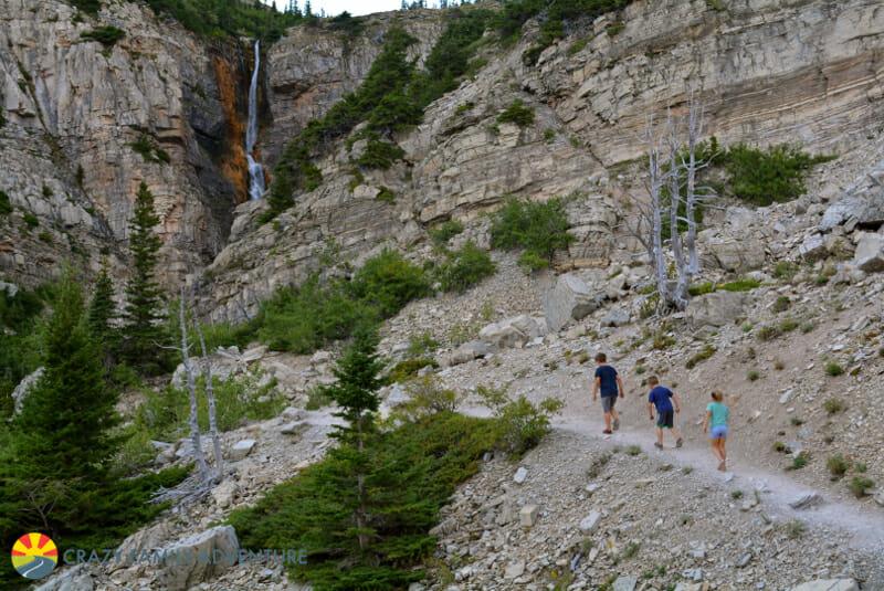 Apikuni Falls Hike