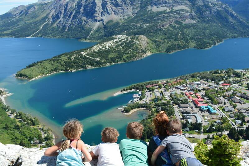 Waterton Lakes Overlook
