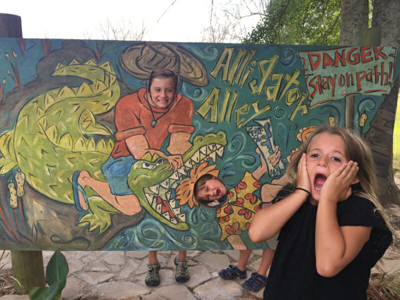 One of our favorite Gulf Shores attractions is Alligator Alley.