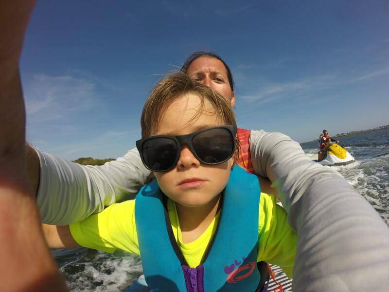 Jet skiing at Gulf Shores was amazing! Super smooth water on the inter-coastal waterway.
